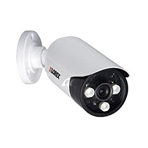Lorex LBC7032F 700TVL 960H Weatherproof Night Vision Security Bullet Camera (White)