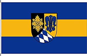 Anwesenheitsbanner Landkreis Unterallgäu - 40 x 250cm - Flagge und Banner