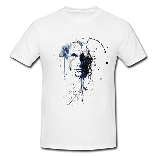 Paul Sinus Art - T-shirt - À logo - Homme - Blanc - Medium