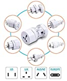 Bulfyss Universal Travel Adapter All in One -Supports over 150 Countries Including US