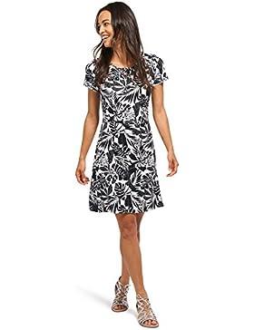 Tom Tailor für Frauen Dress Jersey-Kleid mit floralem Muster
