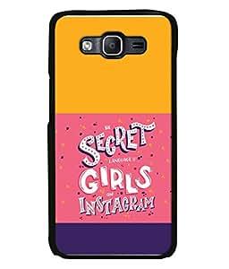 PrintVisa Designer Back Case Cover for Samsung Galaxy On5 (2015) :: Samsung Galaxy On 5 G500Fy (2015) (Secret Language)