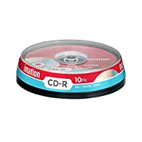 Imation 700MB/80-Minute 52x CD-R, 10 Discs Spindle Base