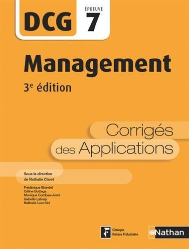Management - DCG 7 - 3e dition