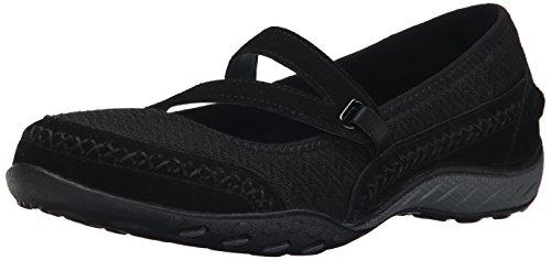 Skechers Womens/Ladies Active Breathe Easy Lovestory Mary Jane Shoes Black