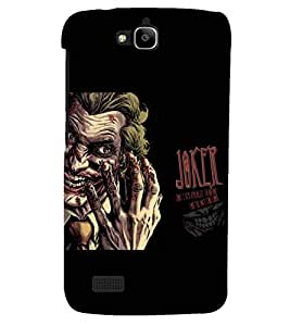PRINTSHOPPII JOKER Back Case Cover for Huawei Honor Holly::Honor Holly