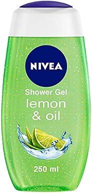 NIVEA Shower Gel, Lemon & Oil Body Wash, Women, 2