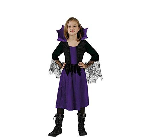Atosa-24531 Disfraz Mujer Araña, Color Violeta, 3 a 4 años (AT 924531 3-4)