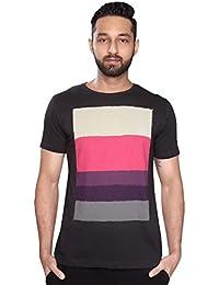 NODE - Analogous (III) Grey [Geometric Design] [100% Cotton] T-Shirt