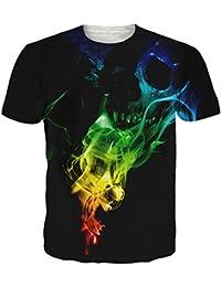uideazone Mens 3D Hanno Stampato Il Modello T-Shirt Fresco grafiche Tees ccb02e6df80