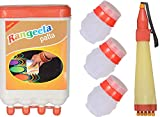 #4: Odishabazaar Ready to Draw Rangoli Making Kit 1 Rangeela Patta + 3 Filler + 1 Rangoli Pen