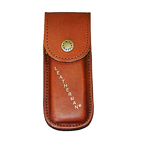 Preisvergleich Produktbild Leatherman Leder-Holster braun WAVE, REBAR, SKELETOOL Leather Sheath LTG 938650