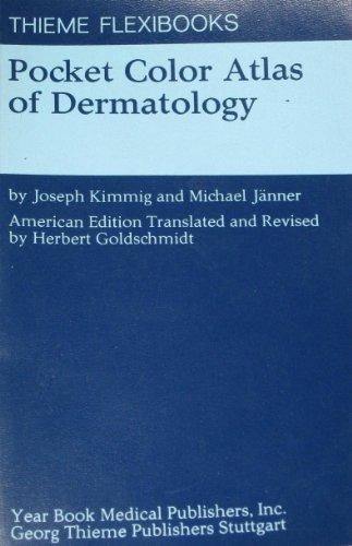Pocket Colour Atlas of Dermatology by Joseph Kimmig (1977-10-01)