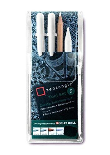 Zentangle - Set di utensili (confezione da 9)