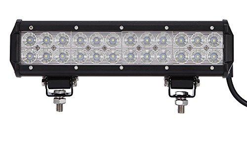 Leetop 72W IP67 CREE LED Light Bar Barra Luminosa LED Fuoristrada Auto Faro da Lavoro Luce Fari LED Auto Fendinebbia Impermeabile Flood e Spot per Auto Camio