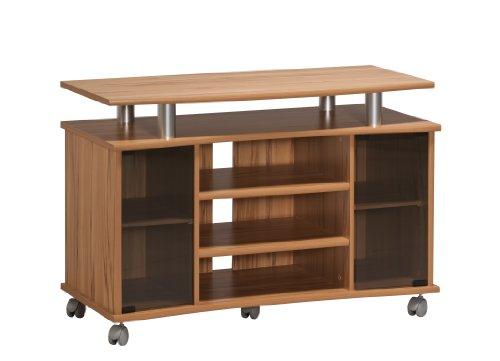 Holz-tv-ständer Möbel (MAJA-Möbel 7362 4843 TV-Rack, Kernbuche-Nachbildung - Alu-Optik, Abmessungen BxHxT:  99,7 x 67,6 x 45 cm)