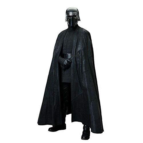 Xcoser Kylo Kostüm SW 8 Cosplay Outfit Deluxe Herren Kapuze Robe Umhang mit Gürtel für Erwachsene Halloween Kleidung