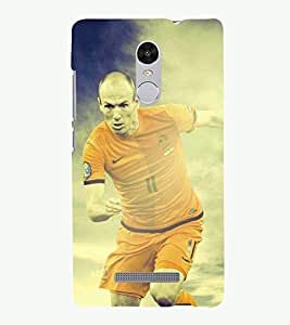 PRINTSOPPII SPORTS FOOTBALL Back Case Cover for Xiaomi Redmi Note 3::Redmi Note 3
