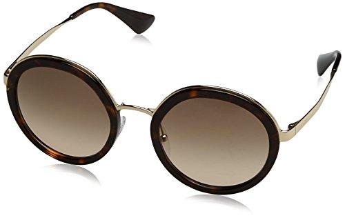 Prada Damen 0PR50TS 2AU3D0 54 Sonnenbrille, Braun (Tortoise/Brown),