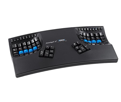Kinesis Advantage2 LF Ergonomic Keyboard (Cherry MX Red Switches)