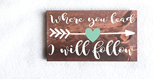 C-US-lmf379581 Gilmore Girls Sign Where You Lead I Will Follow Stars Hollow Gilmore Girls Gilmore Girls Gifts