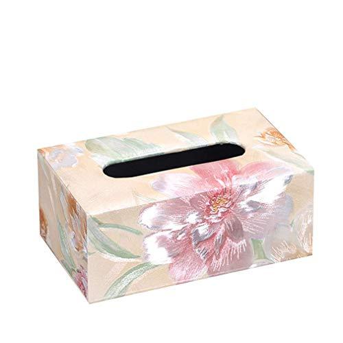 KinTTnyfgi Papierhandtuchbox Home Stay in The TeaRoom Wohnzimmer for The Tray Creative Lovely Minimalist Pack Servietten Set mit 11 Papierhaltern