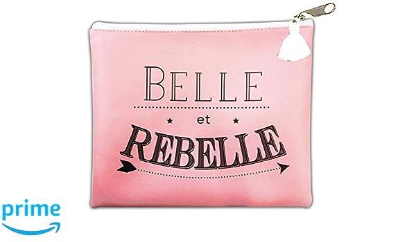 e173a51f7a5a86 STC Sac pochette - Belle et rebelle: Amazon.fr: Chaussures et Sacs