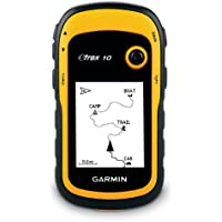 Garmin eTrex 10 Outdoor Handheld GPS Unit, Black/Yellow