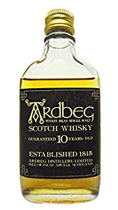 Ardbeg - Finest Islay Single Malt Miniature - 10 year old Whisky from Ardbeg