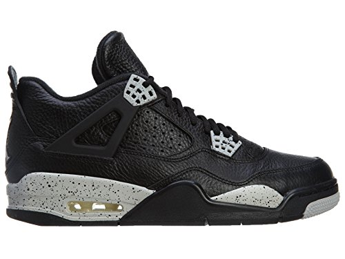 Nike Herren Air Jordan 4 Retro Ls Basketballschuhe, Schwarz black/tech grey-black