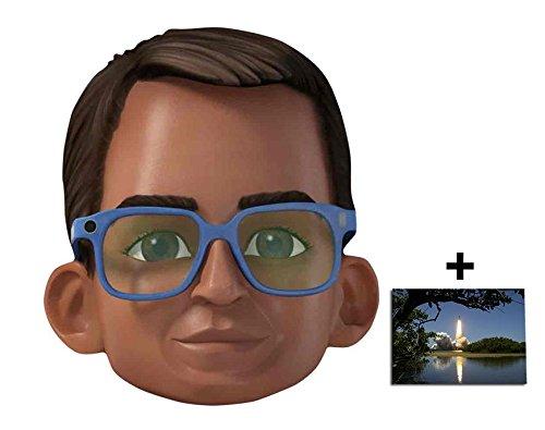 Brains Thunderbirds Are Go Single Karte Partei Gesichtsmasken (Maske) Enthält 6X4 (15X10Cm) (Puppet String Kostüm)