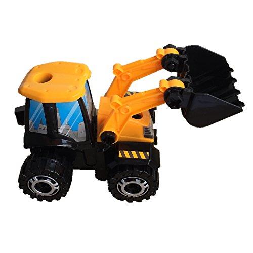 DIY Montieren Sie Spielzeug Modell Tractor Radlader Montage Konstruktionsset für Kinder