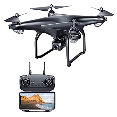 Potensic D58 GPS Drone with Camera, RC Quadcopter 1080P 5G WiFi FPV Transmission drone for adults,Beginners,Auto-Return, Follow Me, Orbit Mode, Altitude Hold