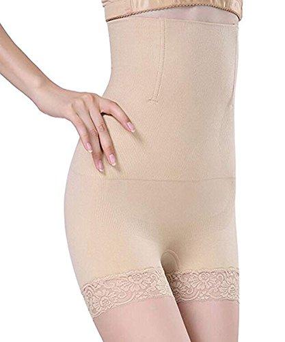 BDSMAGE Damen Slip Miederslip mit Spitze Miederpants Formslip Bauch Weg Effekt Shapewear...