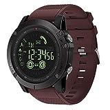 Equickment - Reloj de Pulsera para Hombre, cronómetro, Reloj de Pulsera de TV, GPS, Reloj de Pulsera Zeblaze Vibe 3, Bluetooth, Reloj Inteligente para Deportes al Aire Libre, Regalo para Hombres