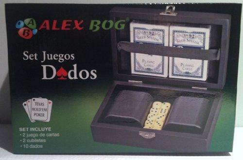 Preisvergleich Produktbild Coffret jeux de dés et de carte (870)