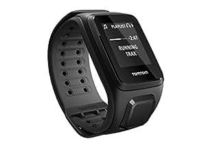 TomTom Runner 2 Music - Montre GPS - Bracelet Large Noir / Anthracite (ref 1REM.001.08)