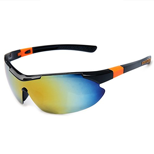 Z-P man's sports style cool running outdoor riding bicycle sports uv400 sunglasses 88mm