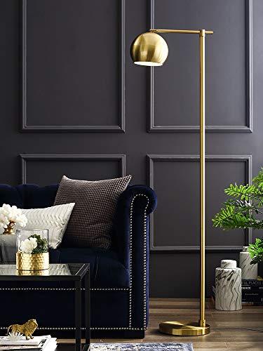 Yingsssq Einstellbare Helligkeit LED Stehleuchte Hohe Leselampe, Diffusor Beleuchtung für Schlafzimmer und Büro (Farbe : Brass) - Stehleuchte Diffusor