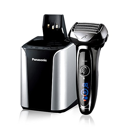 Panasonic ES-LV95-S Arc5 Wet/Dry Shaver with Cleaning and Charging System(Versin EE.UU., importado)