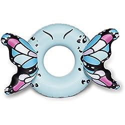 BigMouth Inc Flotador de Piscina de alas de Mariposa Gigante (Azul)
