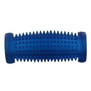 Fußgymnastik-Rolle mit Igel Noppen, Kosmetex Fußrolle 15cm Fußgewölbe, Training der Beweglichkeit,