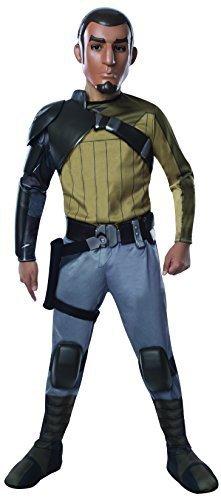Kinder Kanan Kostüm Deluxe - Rubies Star Wars Rebels Deluxe Kanan Costume, Child Large by Rubies
