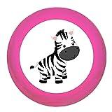 Schrankgriff'Zebra' pink Holz Buche Kinder Kinderzimmer 1 Stück wilde Tiere Zootiere Dschungeltiere Traum Kind