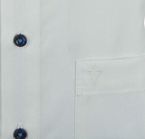 Marvelis Modern Fit Hemd weiß 02