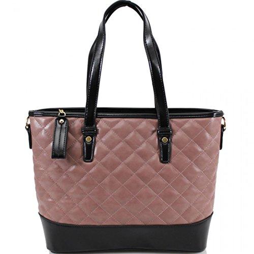 Borsa a secchiello da donna, stile designer Pink