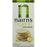 12 Pack Nairns Organic Oatcakes 250 g