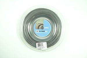 Luxilon Alu Power Soft 1.25mm Tennis String Reel 200m String Reel Silver Review 2018