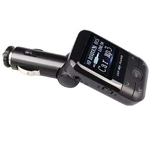 2GB Lecteur MP3 voiture Transmetteur FM USB SD Slot + Remote