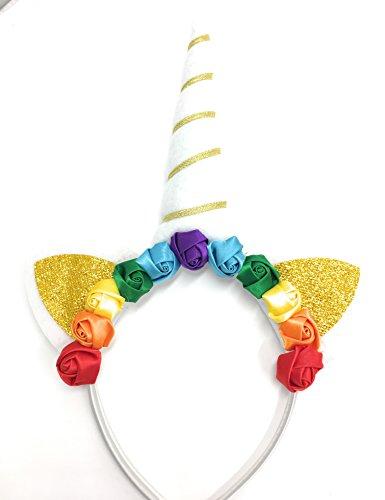 Einhorn Haarreif Haarschmuck Haarband Märchen Fabel Pegasus viele Modelle Farben (Typ 6)